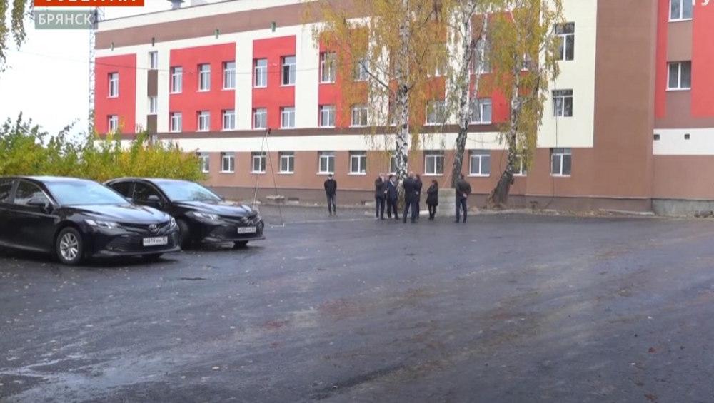 В Брянске новый корпус 4-ой горбольницы из-за коронавируса откроют раньше срока
