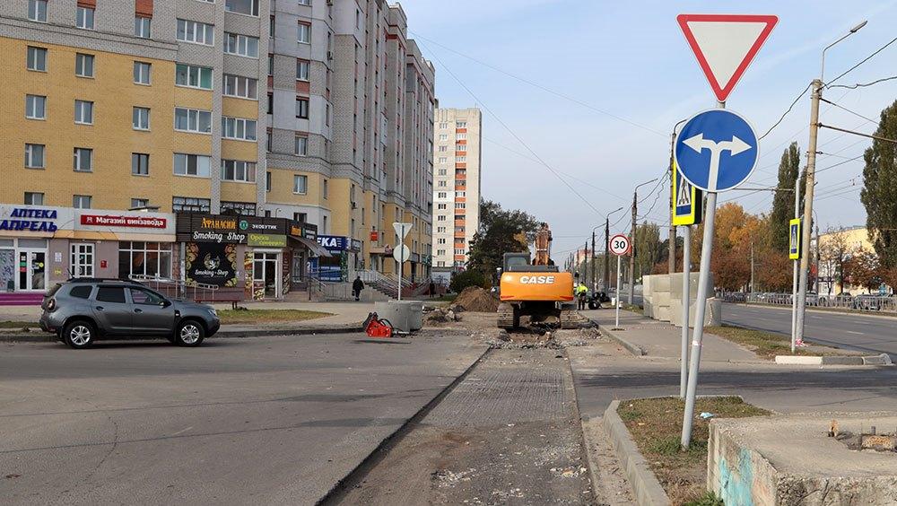 В Брянске ливнёвку на проспекте Московском полностью достроят до конца года