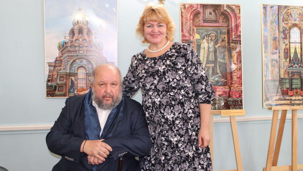 В брянском Овстуге открыл выставку директор музея «Исаакиевский собор»