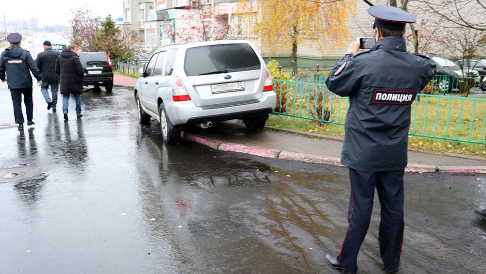 В Брянске во время приемки дороги на улице Объездной поймали нарушителя