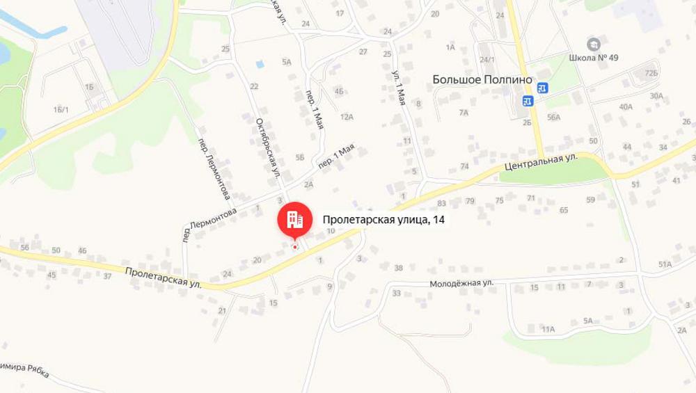Под Брянском 19 октября в Большом Полпине перекроют движение автомобилей
