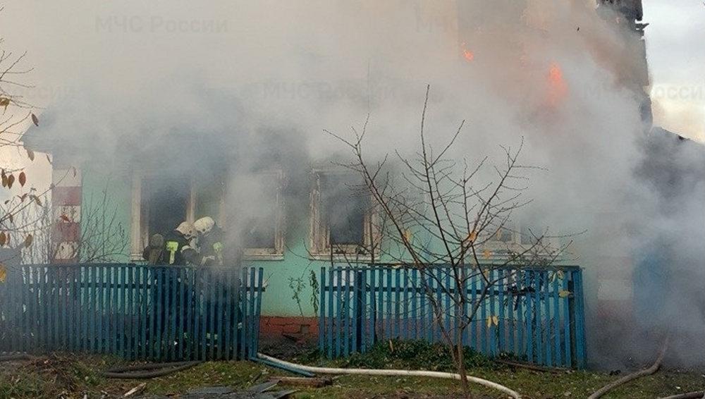 В Сельцо в сгоревшем доме погибли две женщины