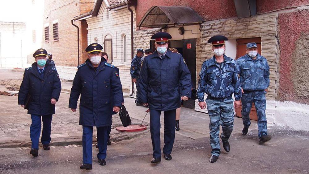 Зампрокурора Брянской области проинспектировал СИЗО №2 в Новозыбкове