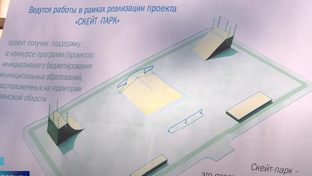 В Жуковке откроют скейт-площадку в центральном парке