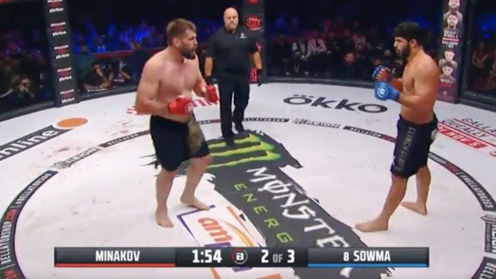 Брянский боец Виталий Минаков проиграл бой американцу Саиду Соуме