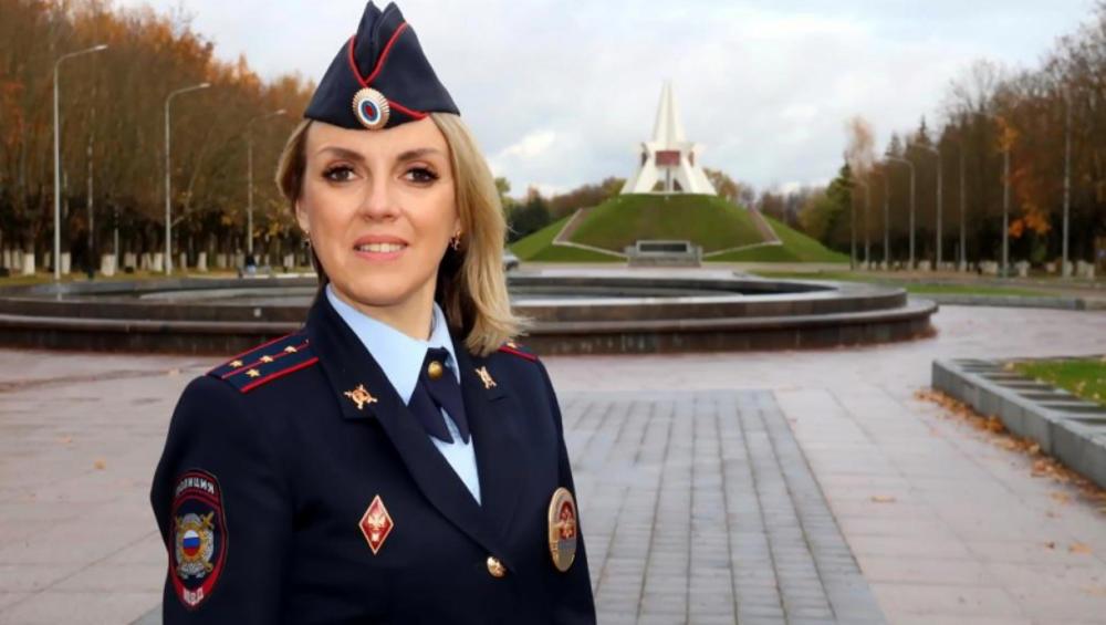 Лучшим участковым в Брянской области стала капитан Ольга Холдаенко