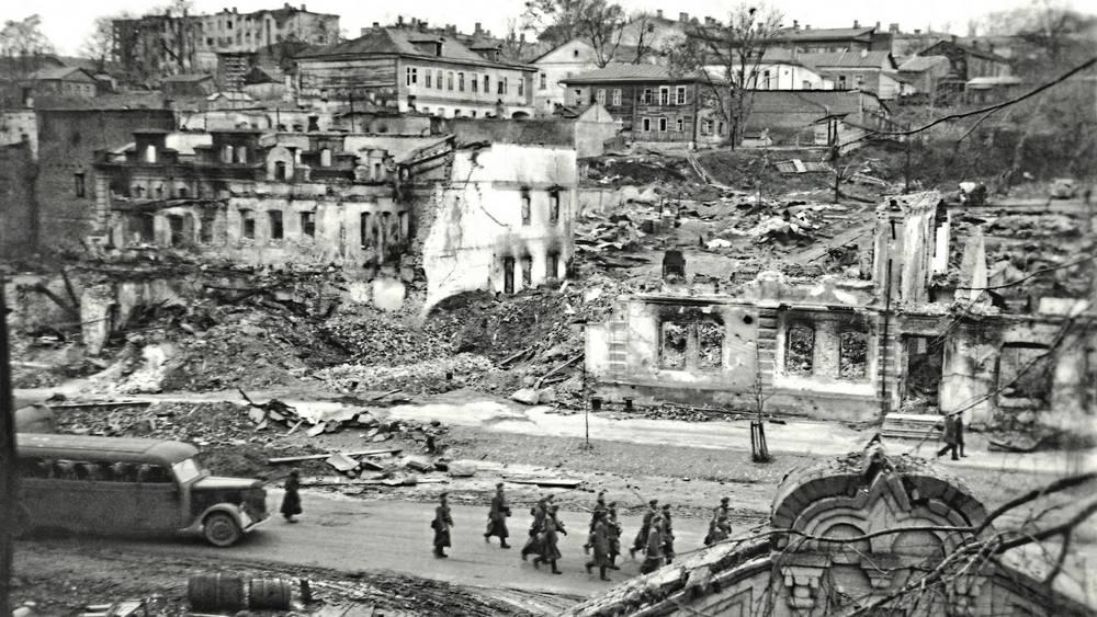 Опубликован снимок, запечатлевший военный ад в Брянске
