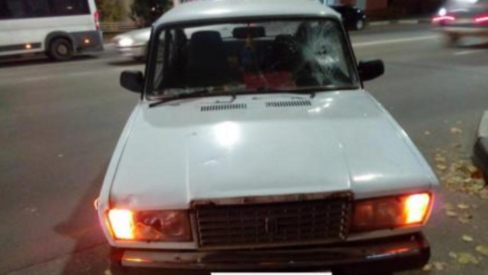 В Брянске на улице Дуки автомобиль ВАЗ сбил 35-летнего велосипедиста