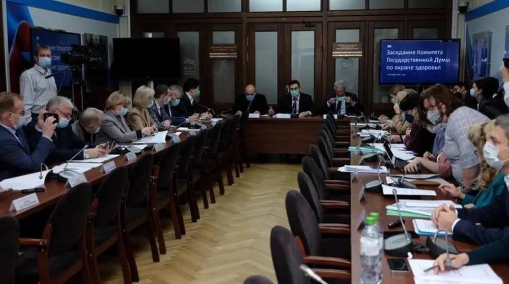 Николай Щеглов: вопросы, поднятые на заседании Комитета по охране здоровья, касаются каждого гражданина