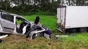 После страшного ДТП под Брянском скончался 43-летний глава семьи