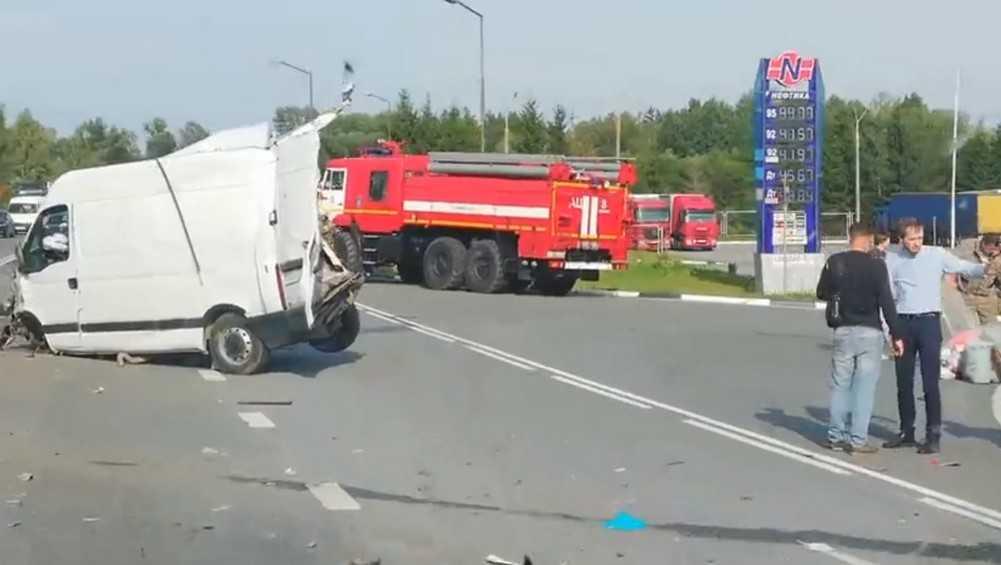 После массового ДТП под Брянском водители потребовали расширить дорогу