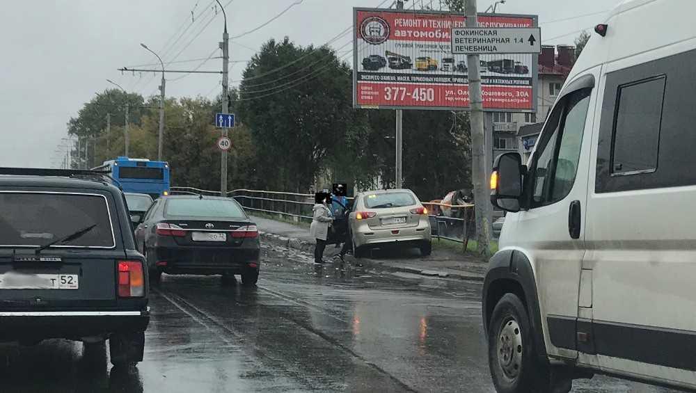 В Брянске виновник ДТП попросил водителя автобуса взять вину на себя