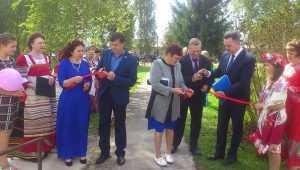 В брянском селе Воронове открылся обновленный Центр культуры и досуга