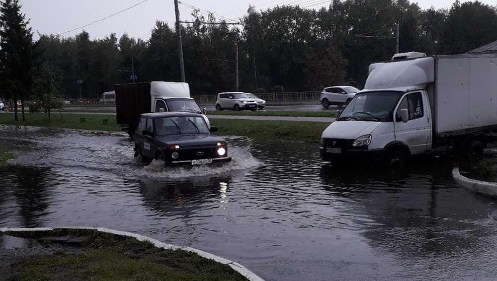 Брянцы весело рассказали об устрашающем потопе после ливня в Бежице