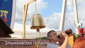 В Брянске перед Свенской ярмаркой сделали смешное открытие со столбами