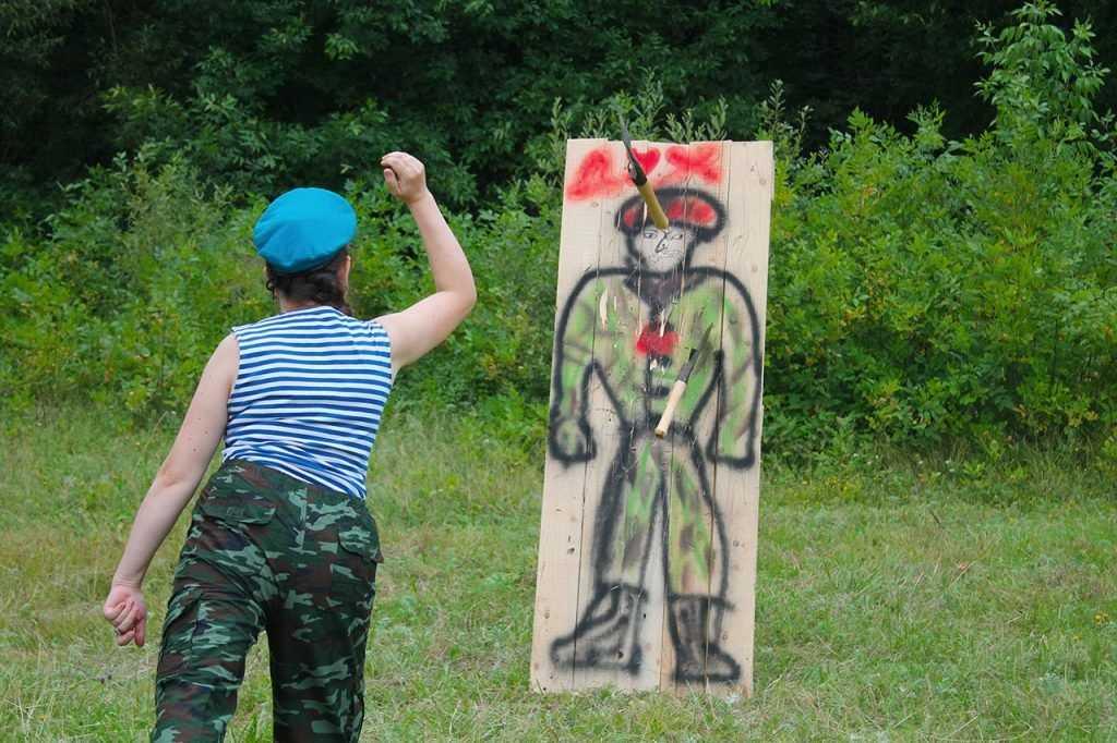 Брянске десантники отметили профессиональный праздник