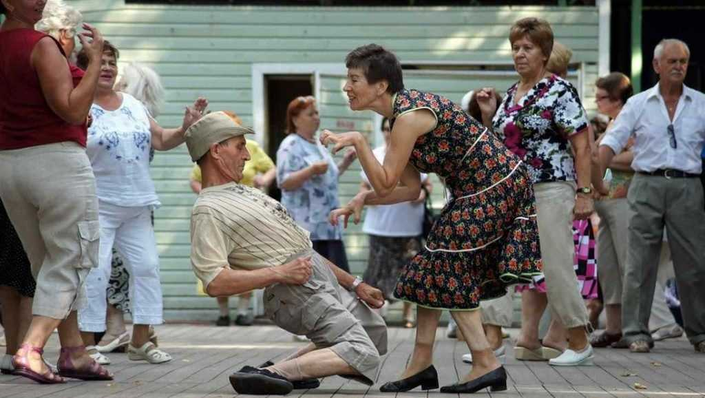 Россия становится страной пожилых