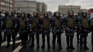 Либералы объявили охоту за головами росгвардейцев и полицейских