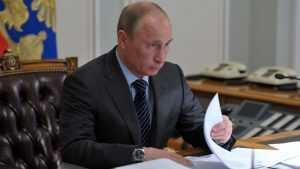 Президент Путин объявил благодарность брянскому предпринимателю