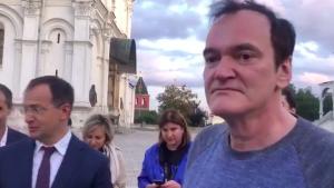 Тарантино удивил министра культуры Мединского вопросом о Кремле