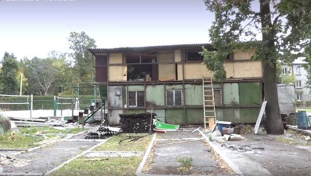 В Фокинском районе Брянска начали готовить стройплощадку под бассейн