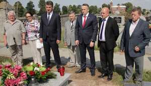 Глава Брянска открыл в Польше выставку в честь героев Сещенского подполья