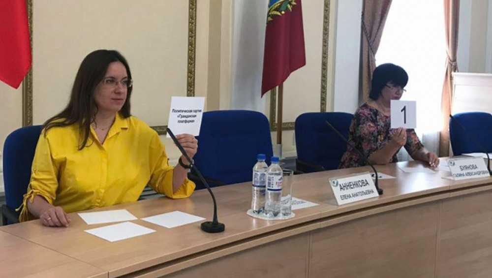 В Брянске провели жеребьевку номеров партий на выборах областной думы