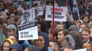 Скоро на учебу: протестные акции оппозиции в Москве выдыхаются