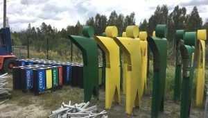 В Брянске зеленые человечки укажут горожанам, куда выкидывать мусор