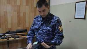 За полугодие брянцы сдали оружия на полмиллиона рублей