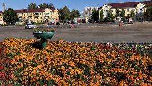 В Брянске на площади Фокина построили кольцевую развязку