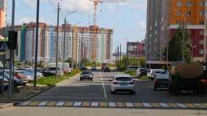 В Брянске завершили ремонт дороги на улице Горбатова