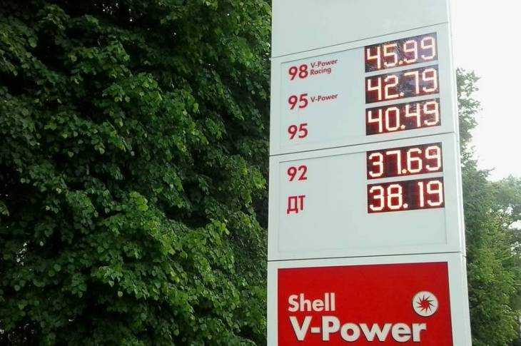 Такими были цены бензина в 2010 году и такими стали в 2017