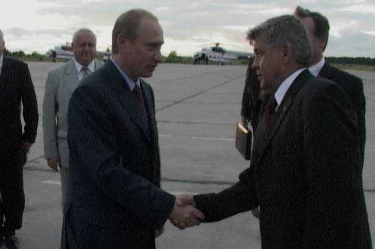 Первый визит Владимира Путина в Брянск. 2004 год
