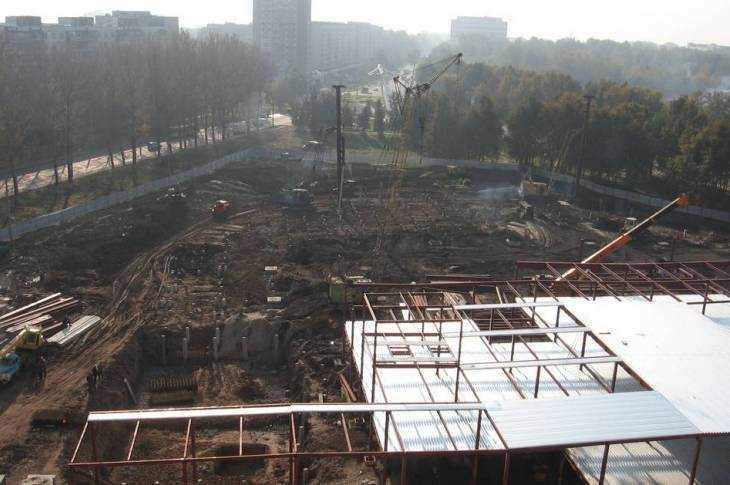 Так начиналось строительство первого гипермаркета «Линия» в Брянске