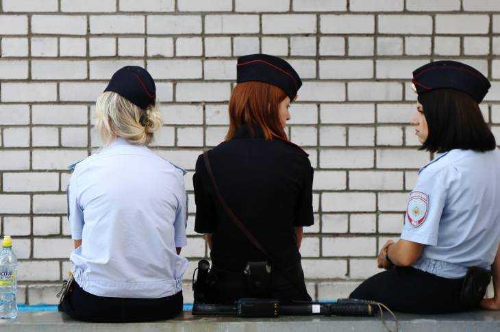 Разноцветная полиция