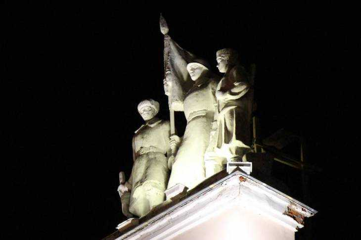 Брянск под суровым пролетарским приглядом