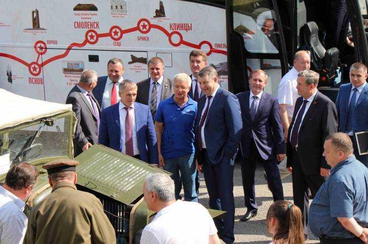 В Брянск прибыли участники автопробега Мурманск — Брест
