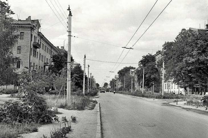 Улица Куйбышева в Брянске