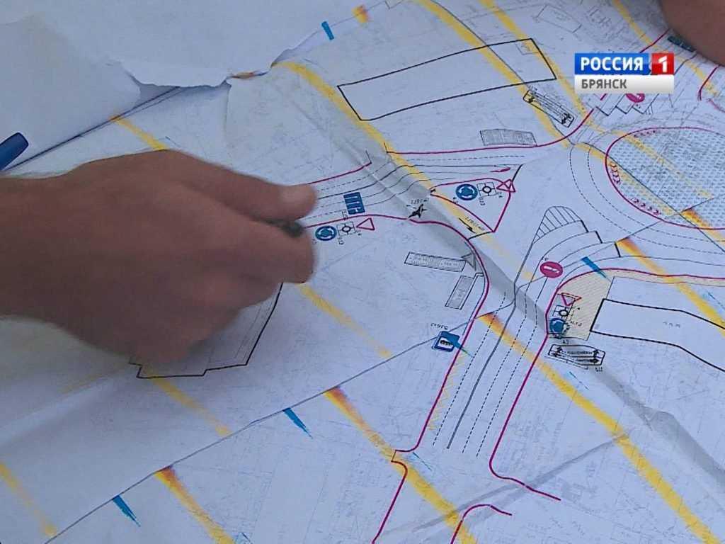 В Брянске началось строительство кольцевой развязки