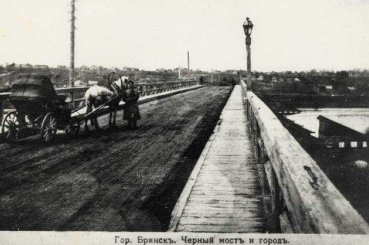 Брянские маршрутчики 100 лет назад