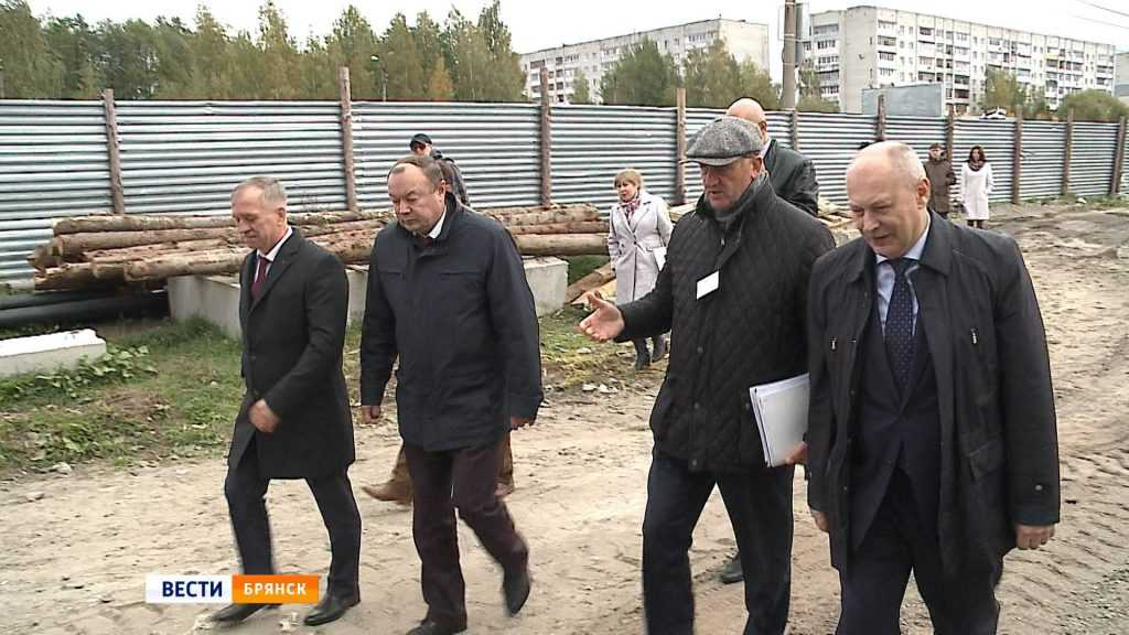 Замминистра спорта посетил Брянск