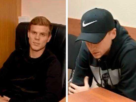 Кокорин и Мамаев на допросе в полиции
