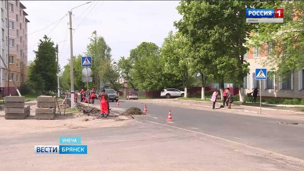 В Брянской области идет массовый ремонт дорог