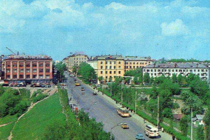 Вид на центральный проспект Брянска